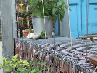 Jardines de estilo  por BERND WALDVOGEL LANDSCHAFTSARCHITEKTUR, Industrial