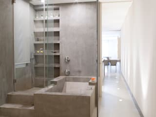 Baños de estilo moderno de MILLENIUM ARCHITECTURE Moderno