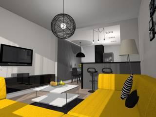 Rycerska mieszkanie od Arta Design