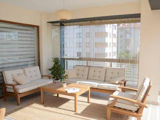 Deco Mimarlik Modern balcony, veranda & terrace