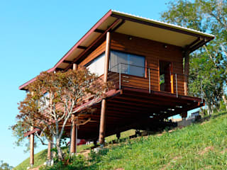 Rustic style houses by Cabana Arquitetos Rustic Wood Wood effect