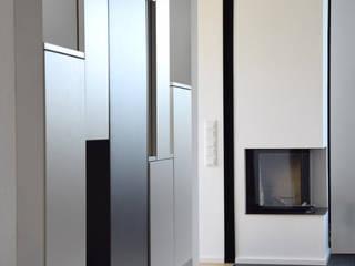 Wohnhaus Z Zornheim:  Wohnzimmer von Marcus Hofbauer Architekt
