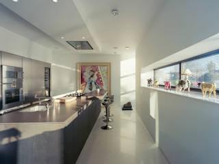 woonhuis eekhof:  Keuken door Engelman Architecten