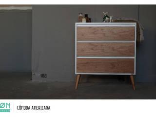 Comoda Americana:  de estilo  por SØN Muebles