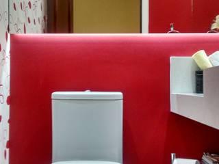 LAVABO: Banheiros  por AA MENDES ARQUITETURA E DESIGN LTDA