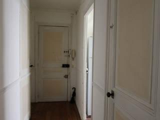 Style épuré blanc&bois pour ce 2 pièces de 25m2 par Ever Invest
