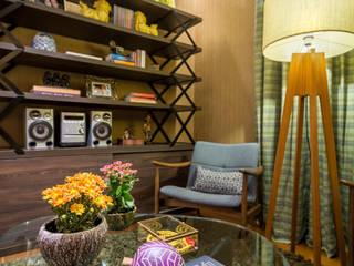 Apartamento Santo Antônio Salas de estar modernas por Melina Mundim | Design de Interiores Moderno
