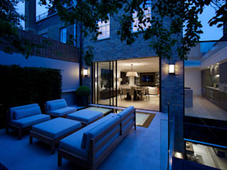 Jardines de estilo  de Nash Baker Architects Ltd,