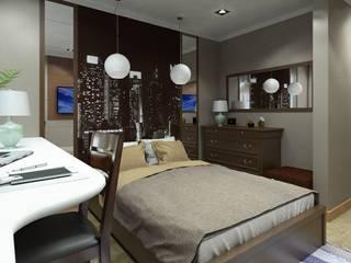 Спальня:  в . Автор – ООО 'Ваш уютный дом'