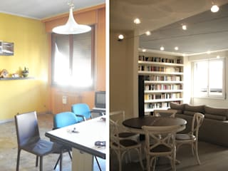 progetto Modern dining room by Re-House2.0 Modern