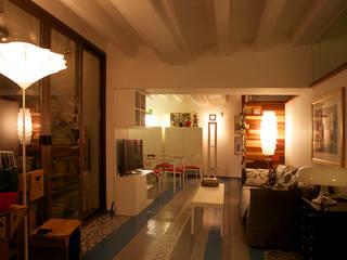 Casa a Ragusa Soggiorno moderno di ZATstudio-Giuseppe Sergio Adamo Moderno