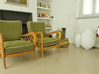 Casa in campagna Soggiorno moderno di MatStudio di ing. Massimo Zuccaro e arch. Claudia Baldi Moderno