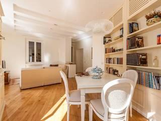 Projekty,  Salon zaprojektowane przez Galiani e Giorgetti S.r.l.