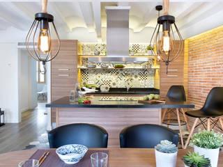Cocinas modernas de Egue y Seta Moderno