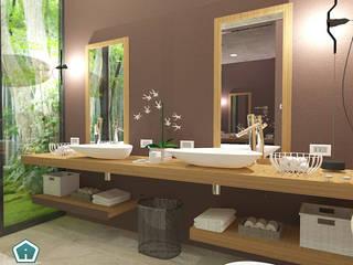 Bagni Bagno moderno di 3d Casa Design Moderno
