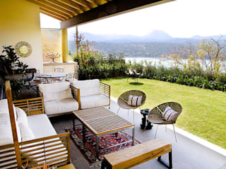 Terrasse de style  par Mayúscula Arquitectos
