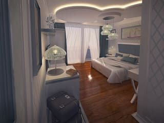 Design by Bley – Floating Hotel Standart Room Design:  tarz