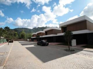 Pátios d'Este: Casas  por TRAMA arquitetos,Moderno