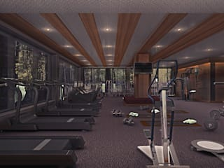 Design by Bley – Gym In The Forrest:  tarz