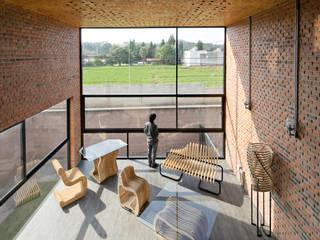 Proyecto Cafeina Industriale Wohnzimmer Glas Transparent