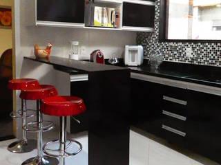 Millena Miranda Arquitetura ห้องครัว