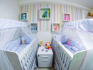 Millena Miranda Arquitetura ห้องนอนเด็ก