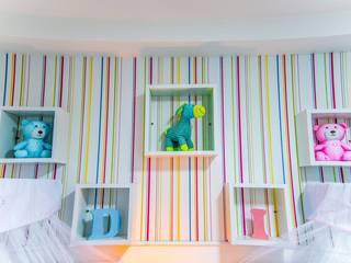Millena Miranda Arquitetura Phòng trẻ em phong cách hiện đại