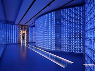 万松寺納骨堂「水晶殿」: 藤村デザインスタジオ / FUJIMURA DESIGIN STUDIOが手掛けた和室です。