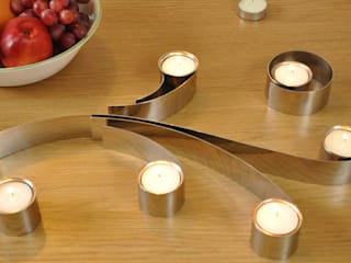 Swirl Tealight Holder HeadSprung Ltd ComedorAccesorios y decoración