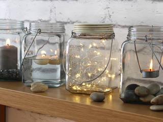 Cosmic Jar:  Dining room by HeadSprung Ltd