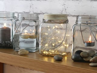 Cosmic Jar: minimalistic Dining room by HeadSprung Ltd