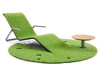 Rug Lounger: 藤村デザインスタジオ / FUJIMURA DESIGIN STUDIOが手掛けたバルコニー&ベランダ&テラスです。
