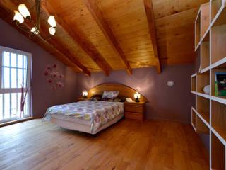 作品: onoが手掛けた寝室です。,モダン