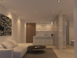Modern Living Room by DESIGN VILLAS MORAIRA SL Modern