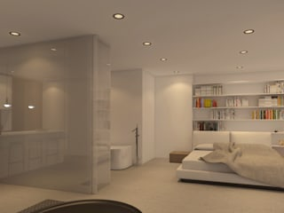 Modern Bedroom by DESIGN VILLAS MORAIRA SL Modern