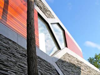 Villa van Lipzig Venlo Moderne huizen van Loxodrome design&innovation Modern