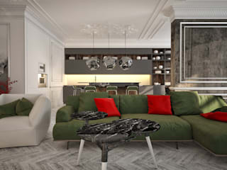 Modern living room by U-Style design studio Modern