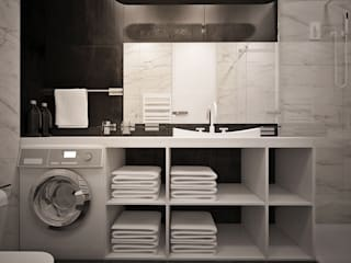 Modern bathroom by U-Style design studio Modern