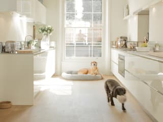 Kitchen at the Chelsea House Classic style kitchen by Nash Baker Architects Ltd Classic