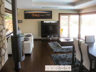 Modern living room by SOLE ATELIER, LDA Modern