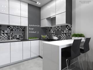 Architekt wnętrz Klaudia Pniak Modern kitchen