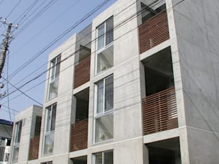 Häuser von Unico design一級建築士事務所, Ausgefallen