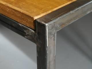 bois et métal (Saône-et-Loire) par atacama architecture Éclectique