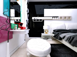 Modern style bedroom by Abb Design Studio Modern