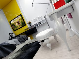 Abb Design Studio Modern style bedroom
