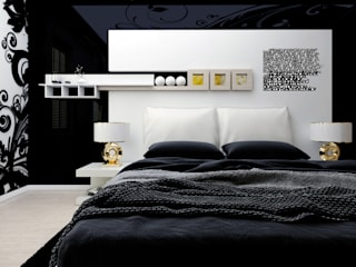 Abb Design Studio Modern style bedroom