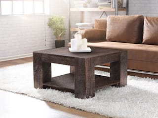 homify Living roomSide tables & trays Wood Brown