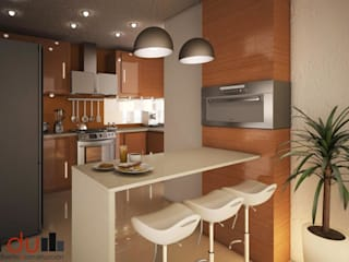 modern Kitchen by GarDu Arquitectos