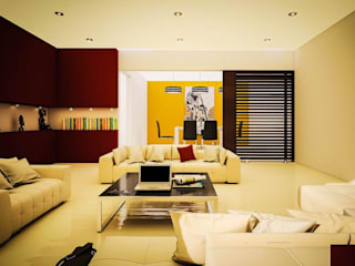 Living room by GarDu Arquitectos , Modern