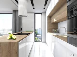 Architekt wnętrz Klaudia Pniak Scandinavian style kitchen